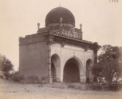 General view of Mustafa Khan's Mosque, Bijapur